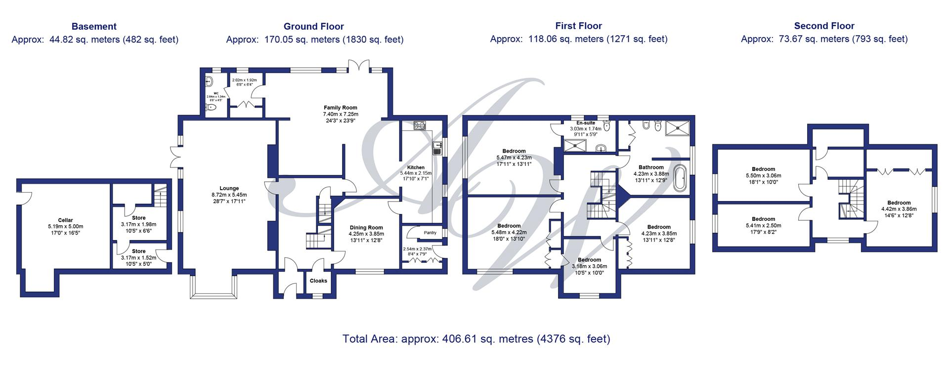 Floor plan for